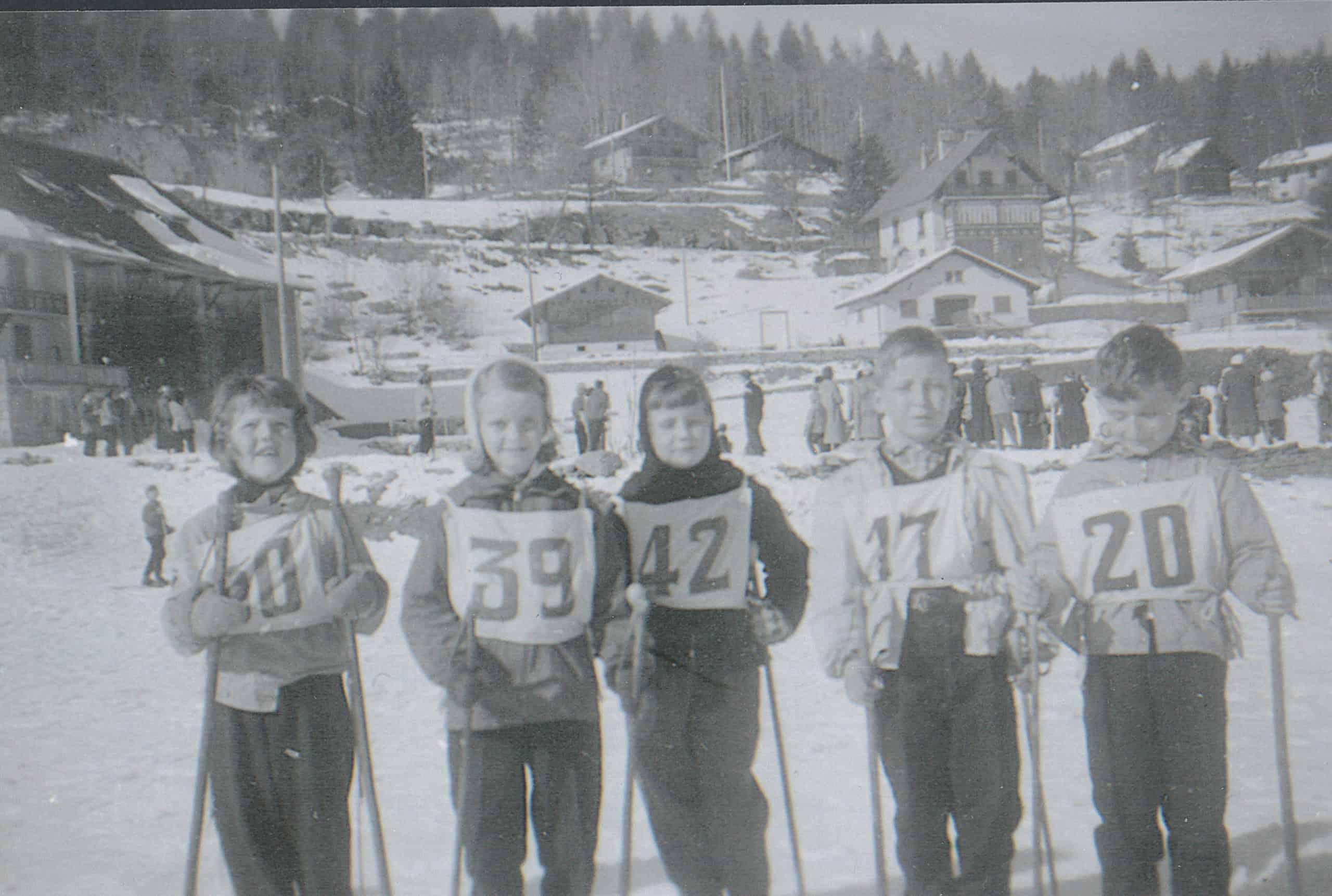 Elèves sportifs 1956