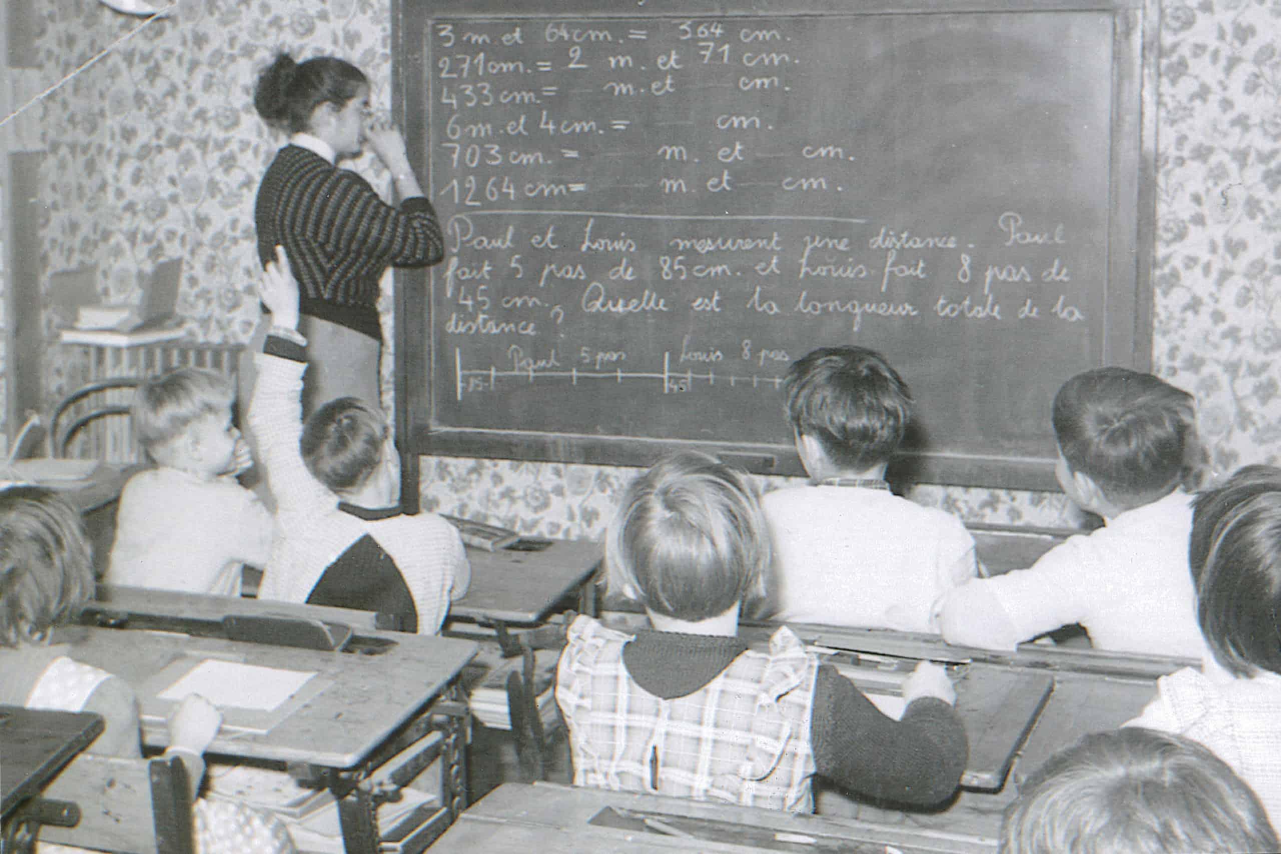 Enseignante 1956